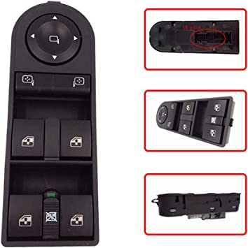 Electric Window Control Switch Console For Vauxhall Opel ZAFIRA B ASTRA H