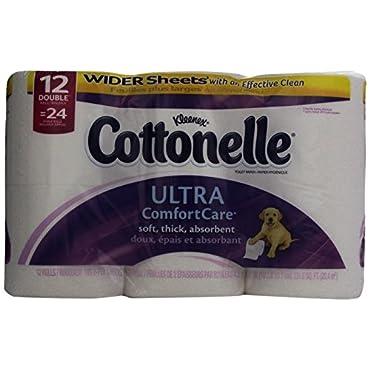 Cottonelle Ultra Comfort Care Toilet Paper (12 Double Rolls)
