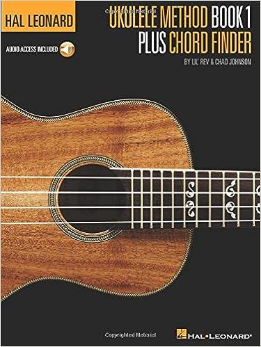 Amazon Hal Leonard Ukulele Method Book 1 Plus Chord Finder