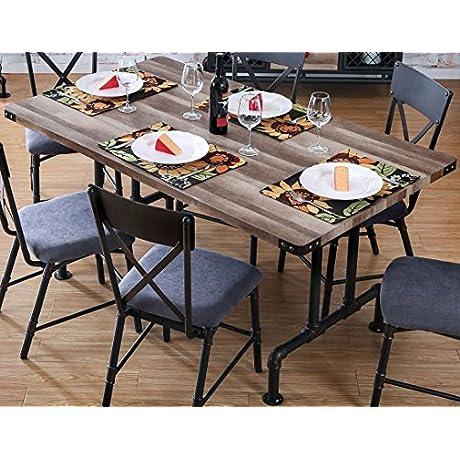 Furniture Of America CM3365T Brixton I Rectangular Dining Table