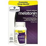 Member's Mark Timed Release Melatonin 10mg (250 ct.) (pack of 6)