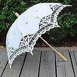 ESHOO Lace Umbrella Parasol Children Costume Accessory Photograph