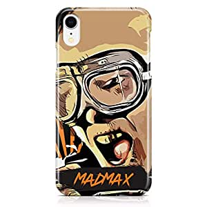 Loud Universe Madmax iPhone XR Case Famous Movie Poster iPhone XR Cover with 3d Wrap around Edges