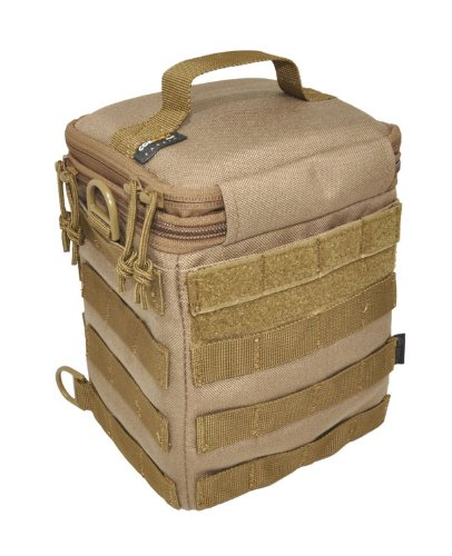 HAZARD 4 forward Observer SLR Padded Camera Bag with Molle, Coyote - Dslr Outfit