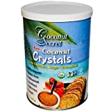 Coconut Secret Organic Raw Coconut Crystals, 12 Ounce -- 12 per case.