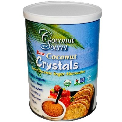 Coconut Secret Organic Raw Coconut Crystals, 12 Ounce - 12 per case. by Coconut Secret
