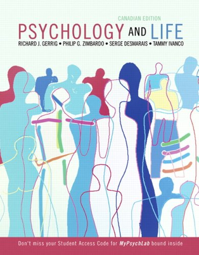 Psychology and Life with MyPsychLab, Canadian Edition