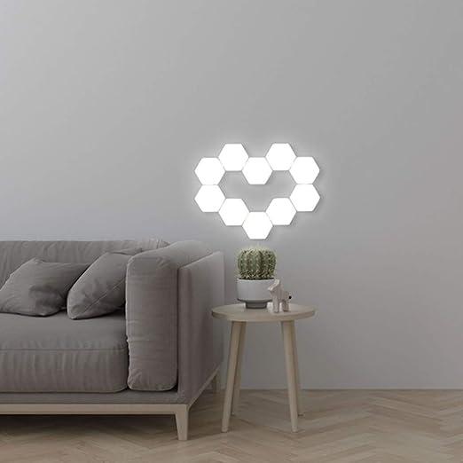 5X Quantum Lampe berührungsempfindliche Beleuchtung sechseckige LED Wandleuchten