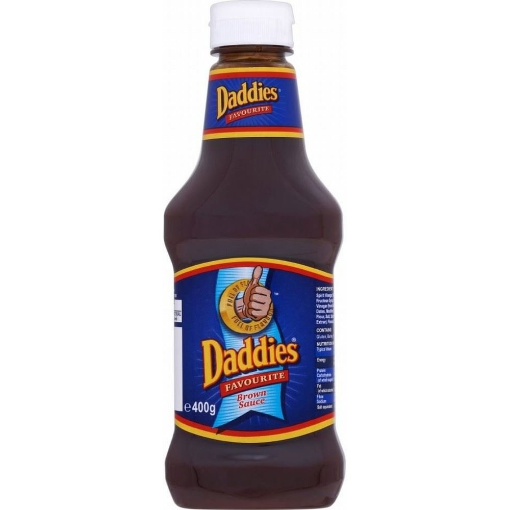 Daddies Brown Sauce (400g) - Pack of 2