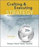 img - for CRAFTING AND EXECUTING STRATEGY: CONCEPTS book / textbook / text book