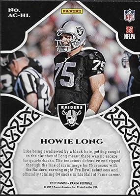 6efaebd7738 Amazon.com  2017 Panini Accolades  4 Howie Long Los Angeles Raiders ...