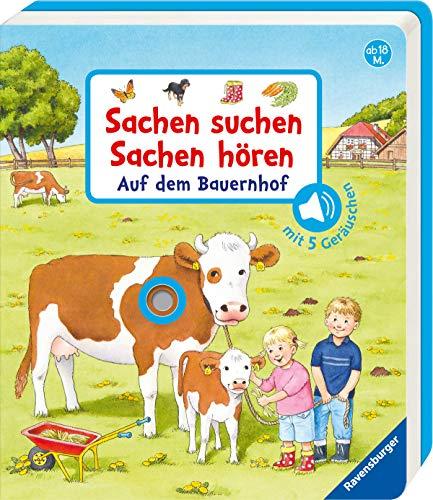 Price comparison product image Sachen suchen,  Sachen hören: Auf dem Bauernhof