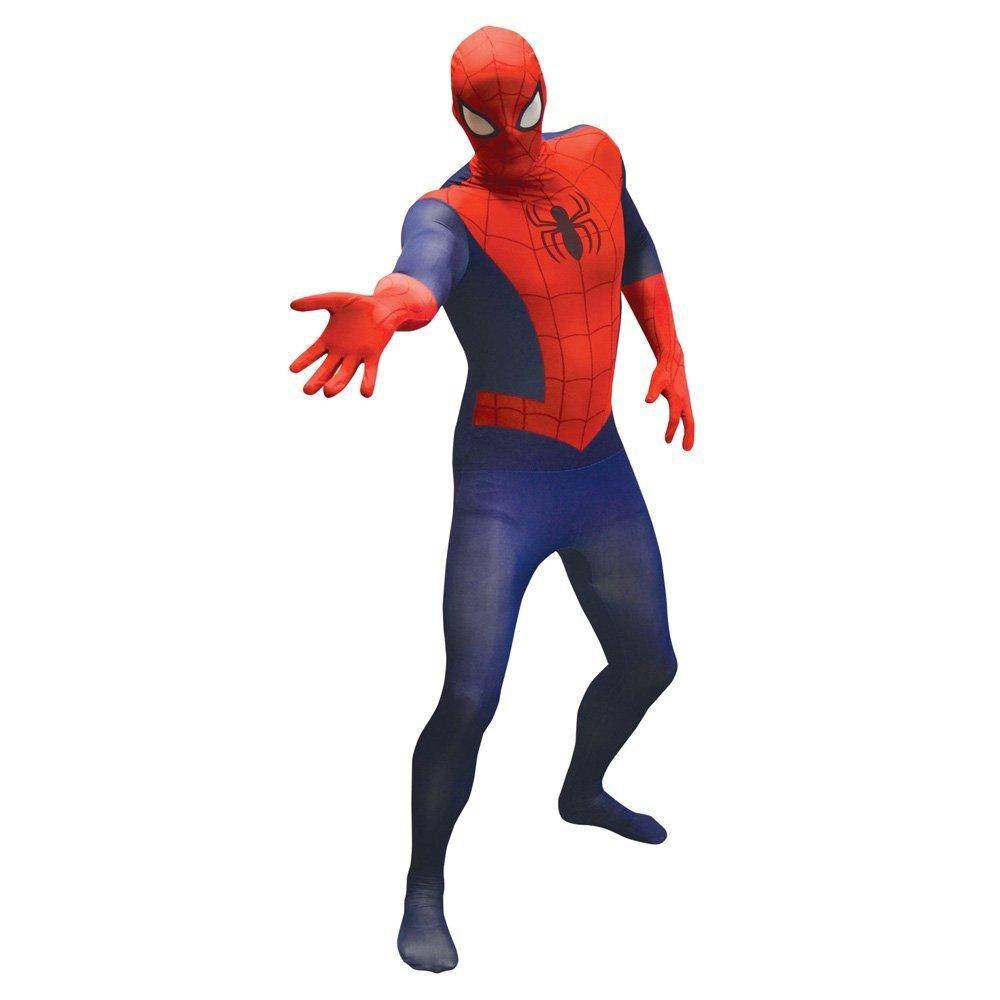 KULTFAKTOR GmbH Marvel Spiderman Value Morphsuit Lizenzware blau-rot XL (bis zu 1,90 m)