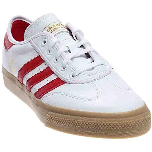 Adidas Mens Adi-ease Universal Adv Bianco / Scarlatto / Oro Metallizzato