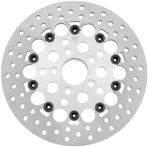 Twin Power Floating Hole Rotor - Silver 1402RS by Twin Power