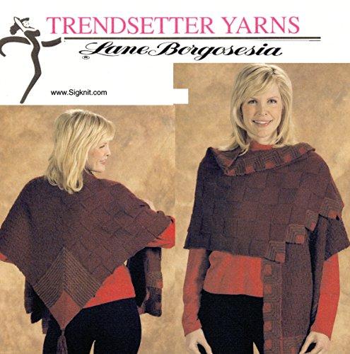 Trendsetter Yarns Lane Borgosesia Knitting Pattern JSS #4 Merino Sei Mitred Trim ()