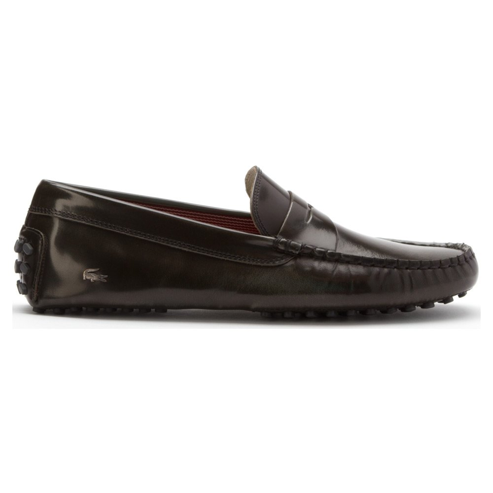 Amazon.com | Lacoste Mens Concours 15 Penny Loafer Driver 28Srm4117-Fd8 | Loafers & Slip-Ons