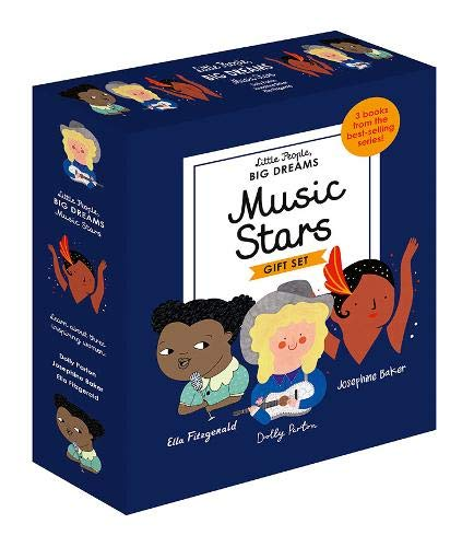 Little People Big Dreams: Music Stars: 3 Books from the Best-Selling Series! Ella Fitzgerald - Dolly Parton - Josephine Baker