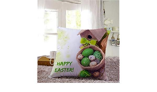 Makefortune2019 - Funda de cojín con diseño de Pascua ...