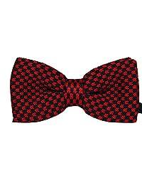 TANGDA Casual Men Stripe Weave Pre-tied Bow Tie Cravat Bowtie 7 Colors Available
