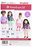 Simplicity Patterns American Girl Doll Clothes for