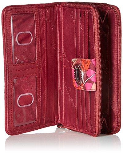 Turnlock Wallet Bohemian Blooms, One Size by Vera Bradley (Image #4)