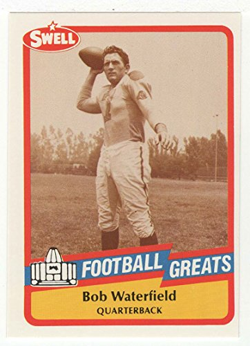 Bob Waterfield (Football Card) 1989 Swell Football Greats # 29 Mt