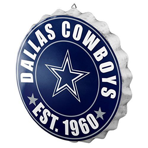 Dallas Cowboys Cap - FOCO Dallas Cowboys 2016 Bottle Cap Wall Sign