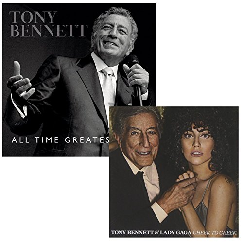 All Time Greatest Hits - Cheek To Cheek (Deluxe) - Tony Bennett and Lady Gaga 2 CD Album Bundling