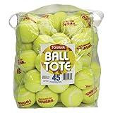 Tourna Grip pressureless Pelotas de Tenis con Bolsa de Vinilo (45Unidades) Pelotas