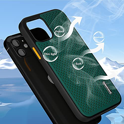 Qutechwood Cooling Phone Case for iPhone 12/12 Pro 6.1