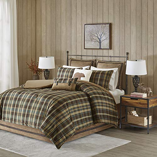 Woolrich Hadley Plaid Comforter Set, Queen, Multi ()