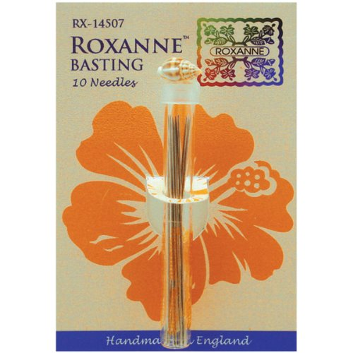 Discover Bargain Roxanne RX-14507 Needles Basting Extra Long 10Pc Needles Basting
