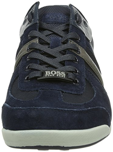 01 Uomo 460 Sneakers open Blu Boss Blue Green Akeen 10167168 tqggX7w
