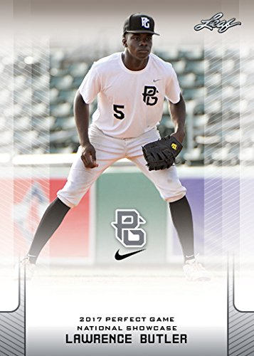 - 10-Count Lot Lawrence Butler 2017 Leaf Perfect Game NIKE All-American Rookies
