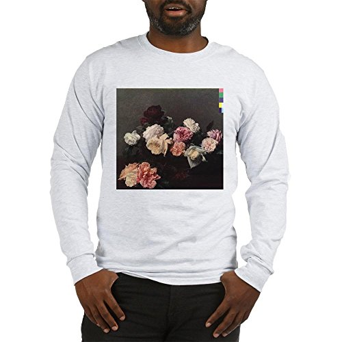 CafePress Power Corruption Lies Unisex Cotton Long Sleeve T-Shirt Ash Grey (New Order Power Corruption And Lies Shirt)