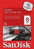 SanDisk Cruzer CZ36 8GB USB 2.0 Flash Drive , SDCZ36-008G-AFFP2