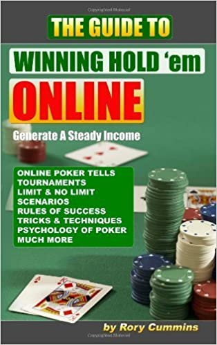 Book The Guide To Winning Hold 'em Online by Rory Cummins (2007-09-11)