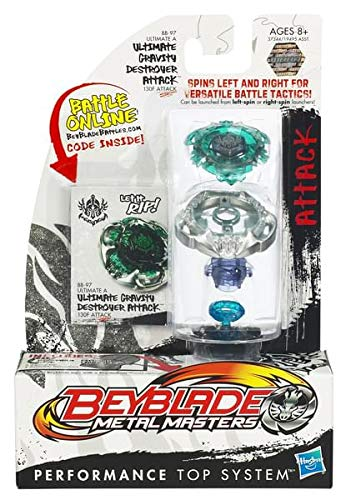 Beyblades Metal Masters Attack Battle Top #BB97 Ultimate Gravity Destroyer Attack by Hasbro [並行輸入品] B00609YY8Y