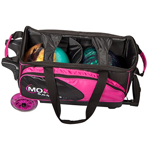 Moxy Blade Premium Double Roller Bowling Bag- Pink Black - Buy Online in  Oman.   Sports Products in Oman - See Prices, Reviews and Free Delivery in  Muscat, ... b49cf7d79b