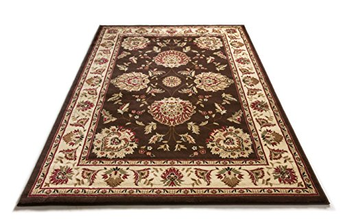Well Woven 36075 Timeless Abbasi Traditional Persian Oriental Brown Area Rug 5