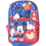 Backpack - Disney - Mickey Mouse Star w/Lunch Bag New 056451