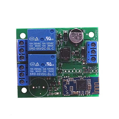 5pcs/lot 2 Channel Relay Module Bluetooth 4.0 BLE for Apple Android Phone IOT