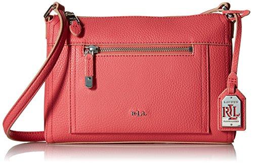 LAUREN Ralph Lauren Paley Leigh Crossbody Coral Cross Body Handbags