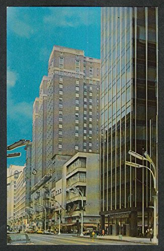 Palmer House State & Monroe St Chicago IL postcard - Il St Chicago State