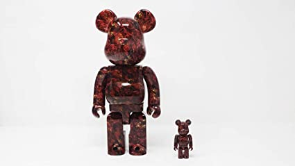 57ce8846 Image Unavailable. Image not available for. Color: Bearbrick Medicom Toy  Mika Ninagawa - Leather Rose ...