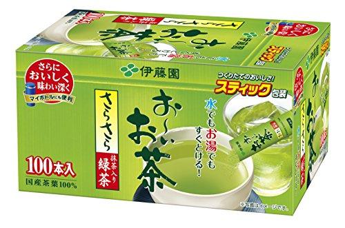 Ito En Oi Ocha Japanese Green Tea, Macha blend, pack of 100 [Japan Import]