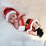 Voberry® Baby Photo Props,Infant Newborn Cute Santa Claus Christmas Outfits
