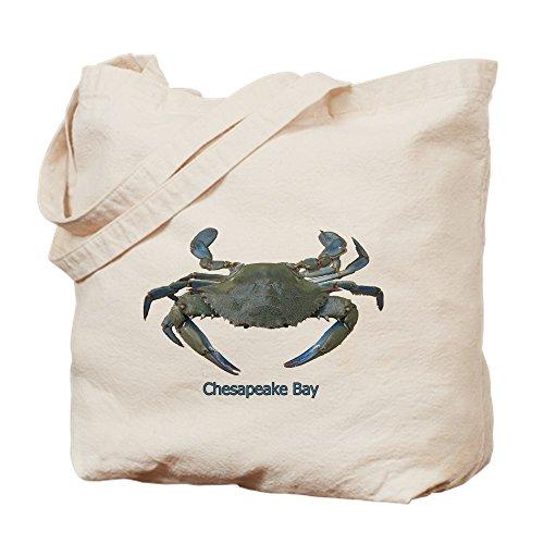 CafePress–Chesapeake Bay Blue Crab–Leinwand Natur Tasche, Reinigungstuch Einkaufstasche Tote S khaki