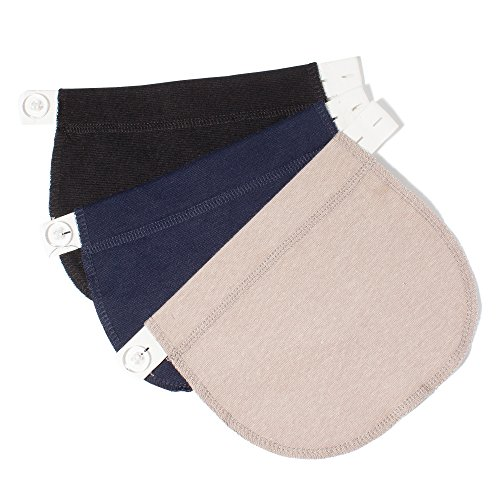 Pregnancy Waistband Extender, Adjustable Elastic, The Maternity Solution, Special for Pregnant Women/ Expectant Mothers